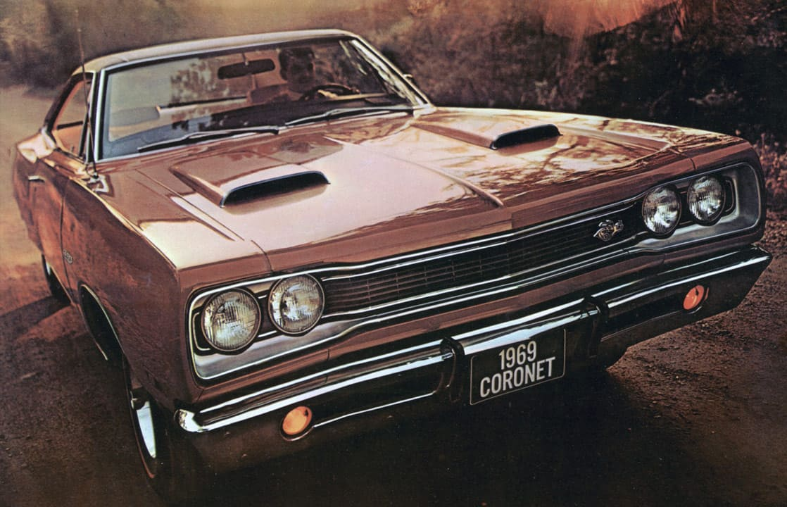 image article Dodge Coronet, la berline qui bat des records de vitesse