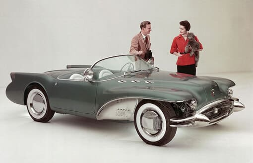 image article The Wildcat leaps out of the Buick factory
