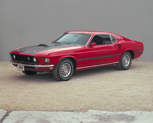 image article Mach 1, the Ford Mustang breaks the popularity barrier